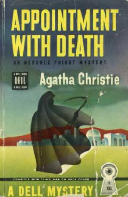 Dell Books - Appointment With Death,: A Poirot Mystery - Agatha Christie