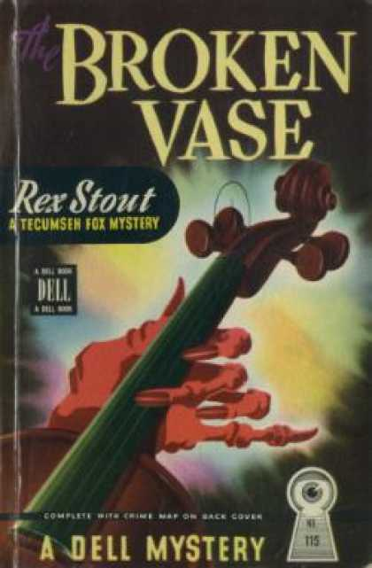 Dell Books - Broken Vase - Rex Stout