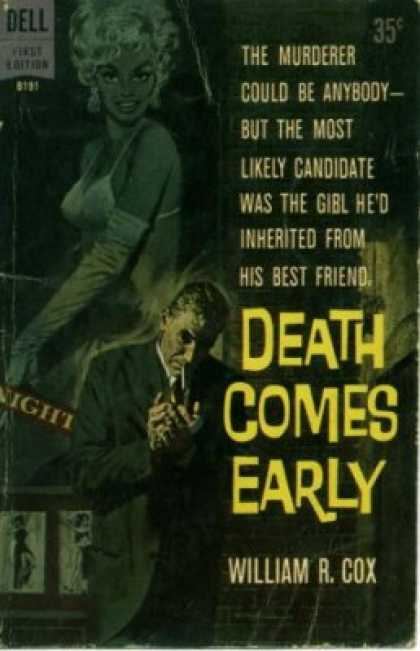 Dell Books - Death Comes Early - William R. Cox