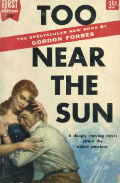 Dell Books - Too Near the Sun - Gordon Forbes