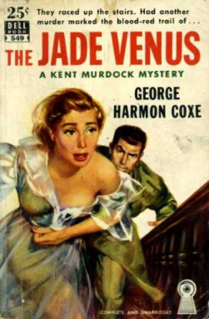 Dell Books - The Jade Venus - George Harmon Coxe