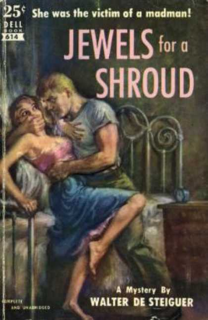 Dell Books - Jewels for a Shroud - Walter Desteiguer