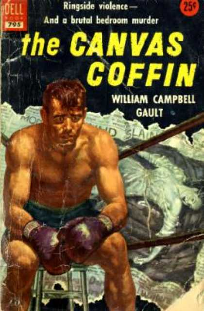 Dell Books - The Canvas Coffin - William Campbell Gault
