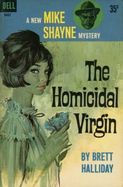 Dell Books - The Homicidal Virgin : A Mike Shayne Mystery - Brett Halliday