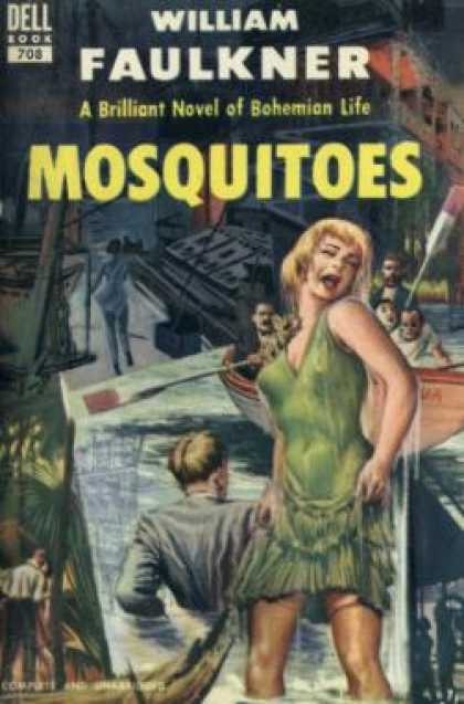 Dell Books - Mosquitoes - William Faulkner
