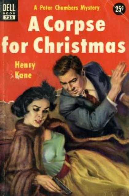 Dell Books - A Corpse for Christmas - Henry Kane
