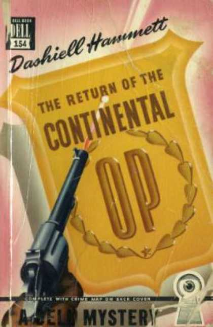 Dell Books - The Return of the Continental Op - Dashiell Hammett
