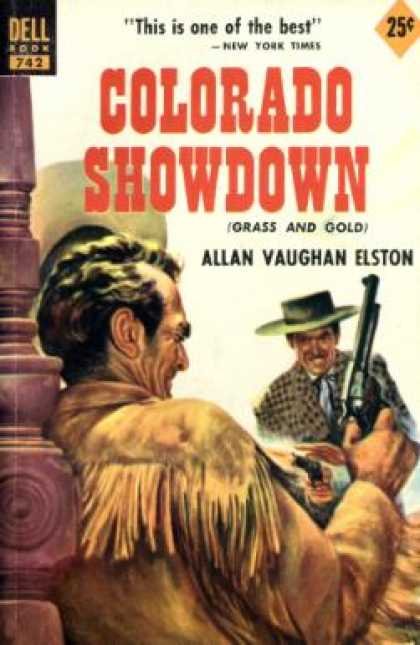 Dell Books - Colorado Showdown - Allan Vaughan Elston