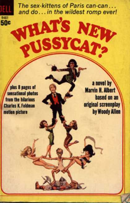 Dell Books - What's New Pussycat? - Marvin H. Albert
