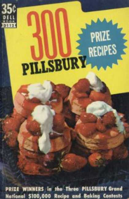 Dell Books - 300 Pillsbury Prize Recipes - Anonymous