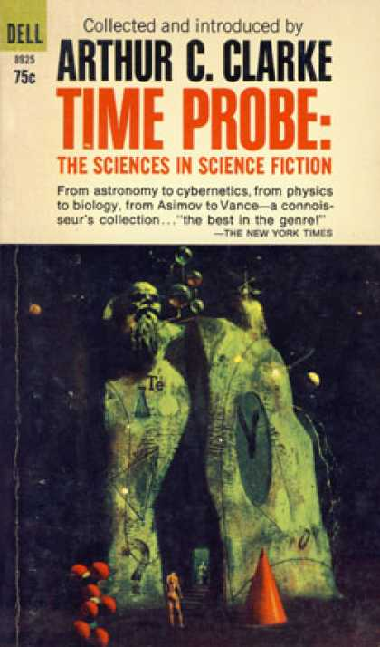 Dell Books - Time Probe - Sciences In Science Fiction - Arthur C. Collected By Clarke
