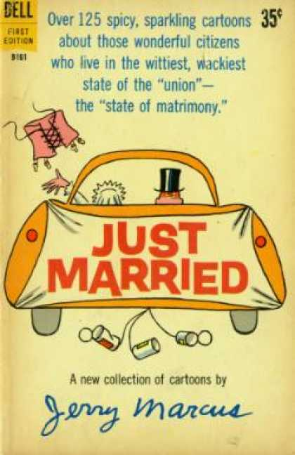 Dell Books - Just Married - Jerry Marcus
