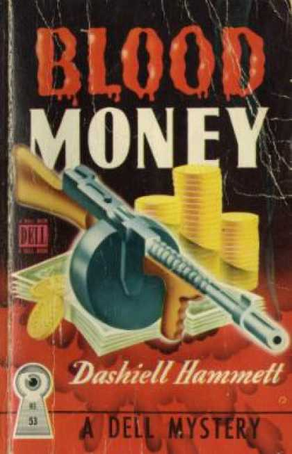 Dell Books - Blood Money - Dashiell Hammett
