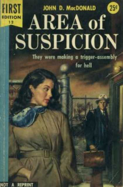 Dell Books - Area of Suspicion - John D. Macdonald