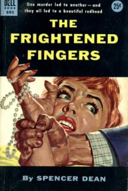 Dell Books - The Frightened Fingers - Spencer Dean