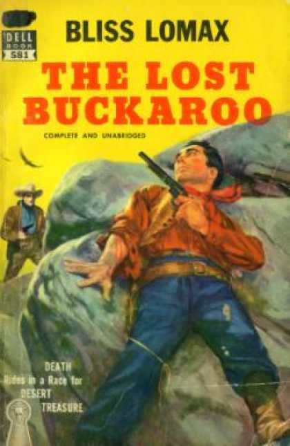 Dell Books - The Lost Buckaroo - Bliss Lomax