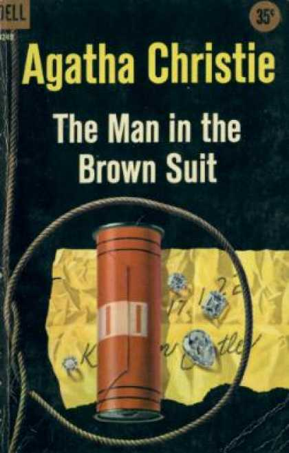 Dell Books - The Man In the Brown Suit - Agatha Christie