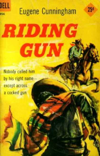 Dell Books - Riding Gun;: A Buscadero Novel - Eugene Cunningham