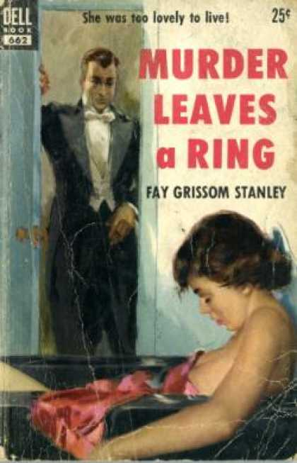 Dell Books - Murder Leaves a Ring - Fay Grissom Stanley
