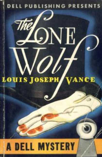 Dell Books - The Lone Wolf - Louis Joseph Vance