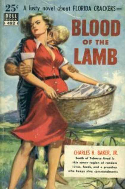 Dell Books - Blood of the Lamb - Charles H. Baker Jr.