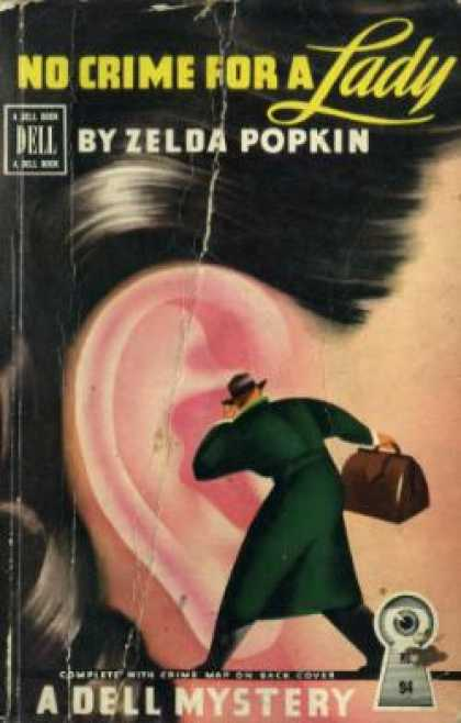 Dell Books - No Crime for a Lady: A Mary Carner Mystery - Zelda Popkin