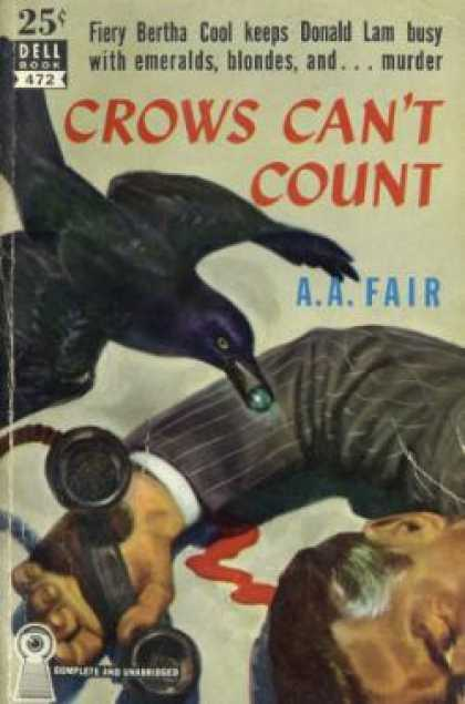 Dell Books - Crows Cant Count - A.a. Fair
