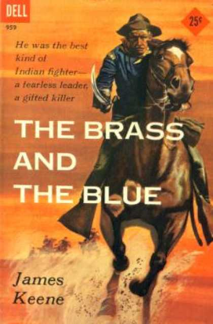 Dell Books - The Brass and the Blue - James Keene