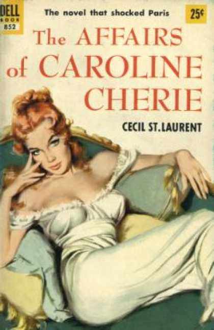 Dell Books - The Affiars of Caroline Cherie - Cecil St. Laurent