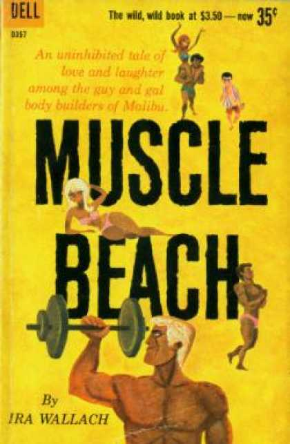 Dell Books - Muscle Beach
