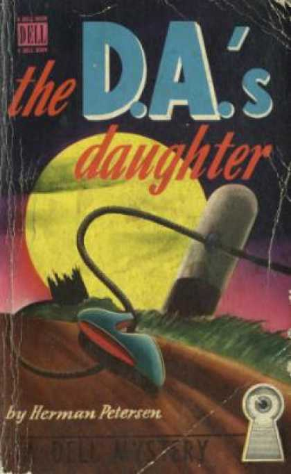 Dell Books - The D.a.'s Daughter - Herman Petersen