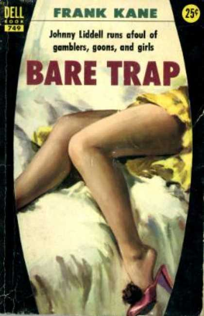 Dell Books - Bare Trap Dell 749 Gga - Frank Kane