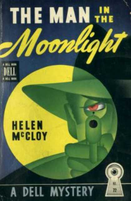 Dell Books - The Man In the Moonlight :a Basil Willing Detective Story - Helen Mccloy