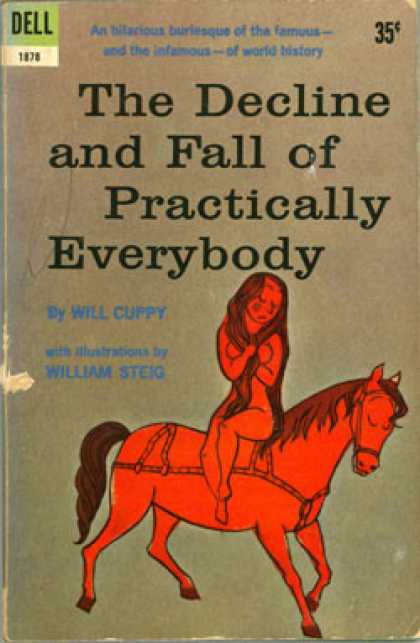 Dell Books - The Decline and Fall of Practically Everybody; - Will Cuppy