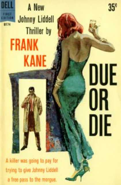 Dell Books - Due or Die - Frank Kane