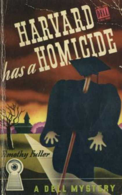Dell Books - Harvard Has a Homicide - Timothy Fuller