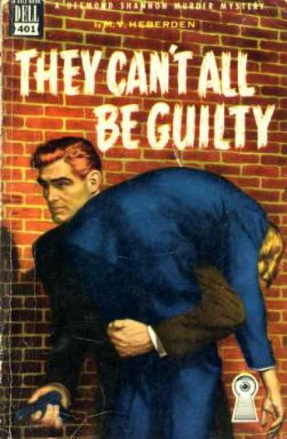 Dell Books - They Can't All Be Guilty - M. V. Heberden