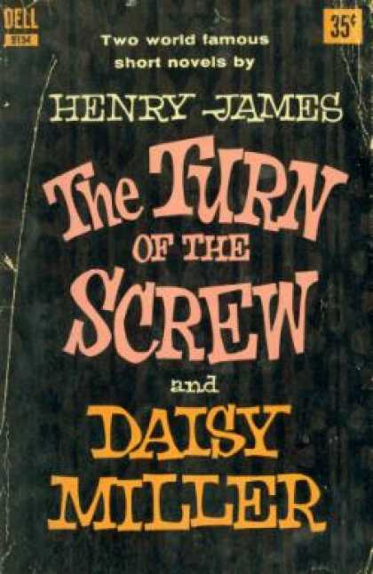 Dell Books - The turn of the screw / Daisy Miller - Henry James