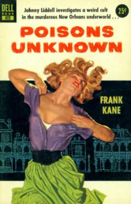 Dell Books - Poisons Unknown - Frank Kane
