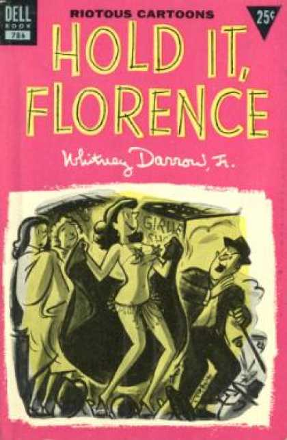 Dell Books - Hold it, Florence - Whitney Darrow, Jr.