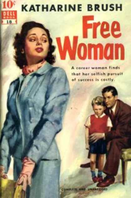 Dell Books - Free Woman - Katharine Brush