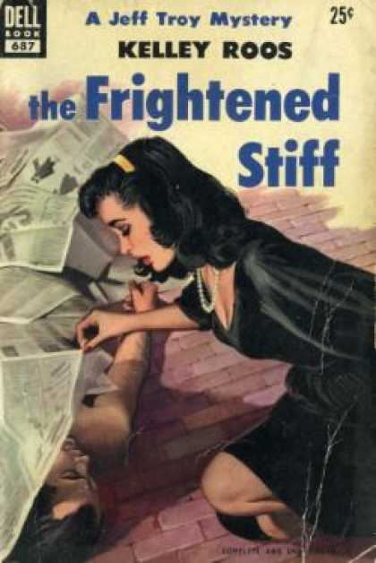 Dell Books - The Frightened Stiff - Kelley Roos