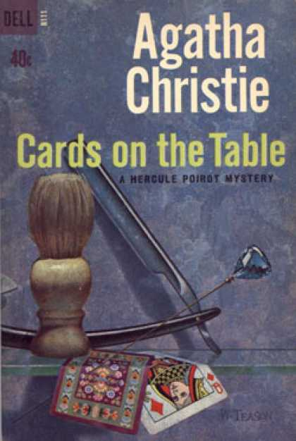 Dell Books - Cards on the Table - Agatha Christie