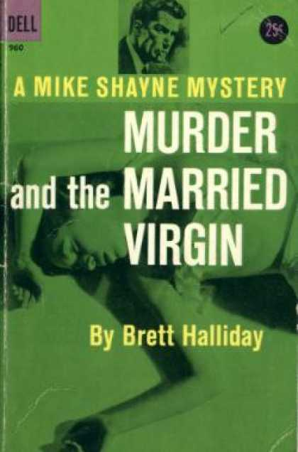 Dell Books - Murder and the Married Virgin - Brett Halliday