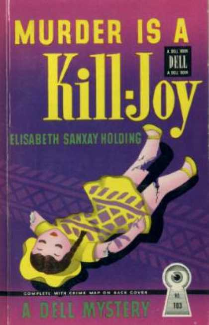 Dell Books - Murder Is a Kill-joy