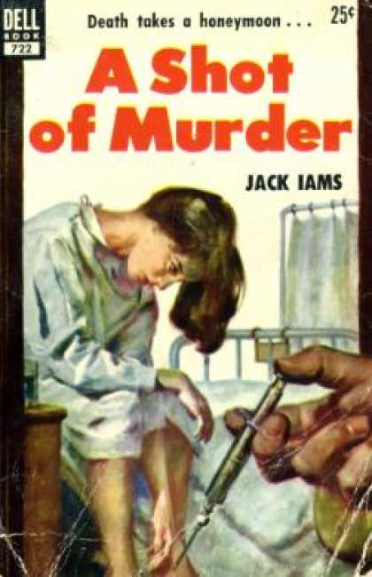 Dell Books - A Shot of Murder - Jack Iams