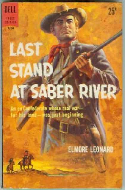 Dell Books - Last Stand at Saber River - Elmore Leonard