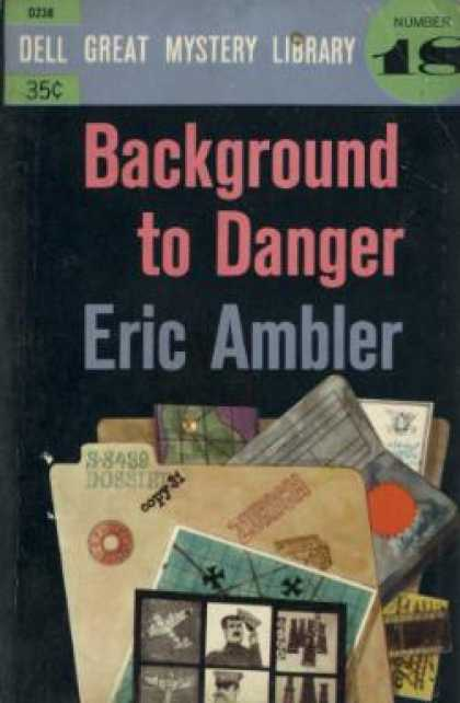 Dell Books - Background to Danger - Eric Ambler