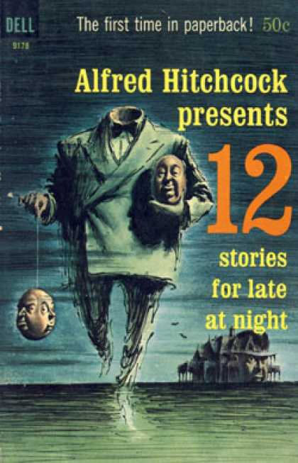 Dell Books - Alfred Hitchcock Presents 12 Stories for Late at Night - Alfred Hitchcock