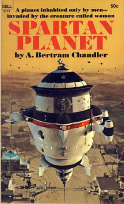 Dell Books - Spartan Planet - A. Bertram Chandler